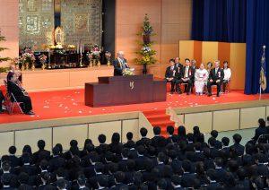 入学式の写真